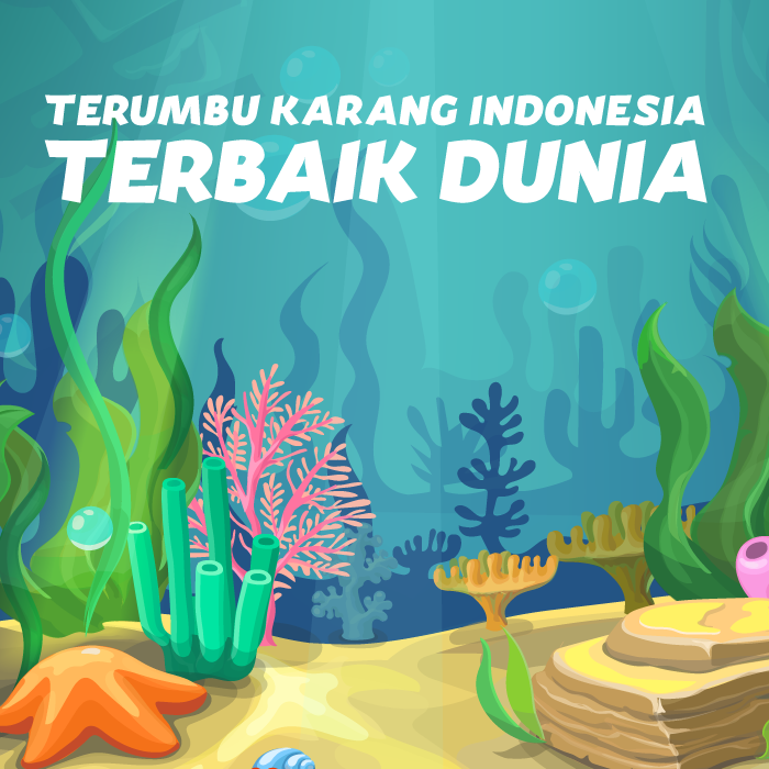 Terumbu Karang Indonesia Terbaik Dunia -inf