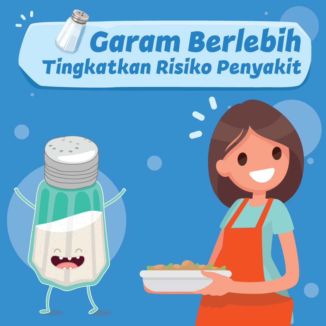 Garam Berlebih Tingkatkan Risiko Penyakit-inf