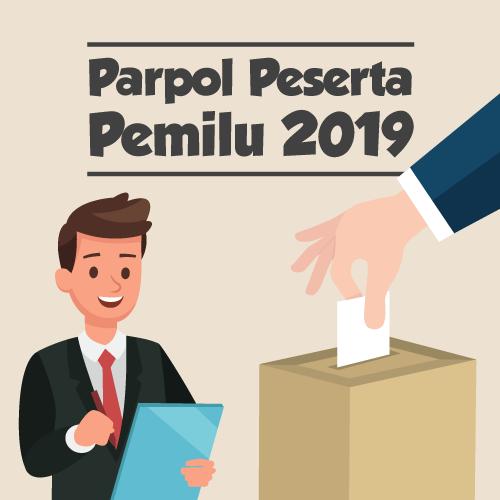 Parpol Peserta Pemilu 2019-inf