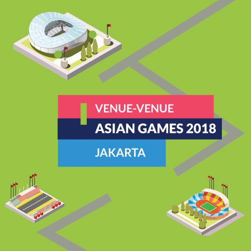 [ASIAN GAMES 2018] Venue-venue Asian Games 2018: Jakarta #20-inf