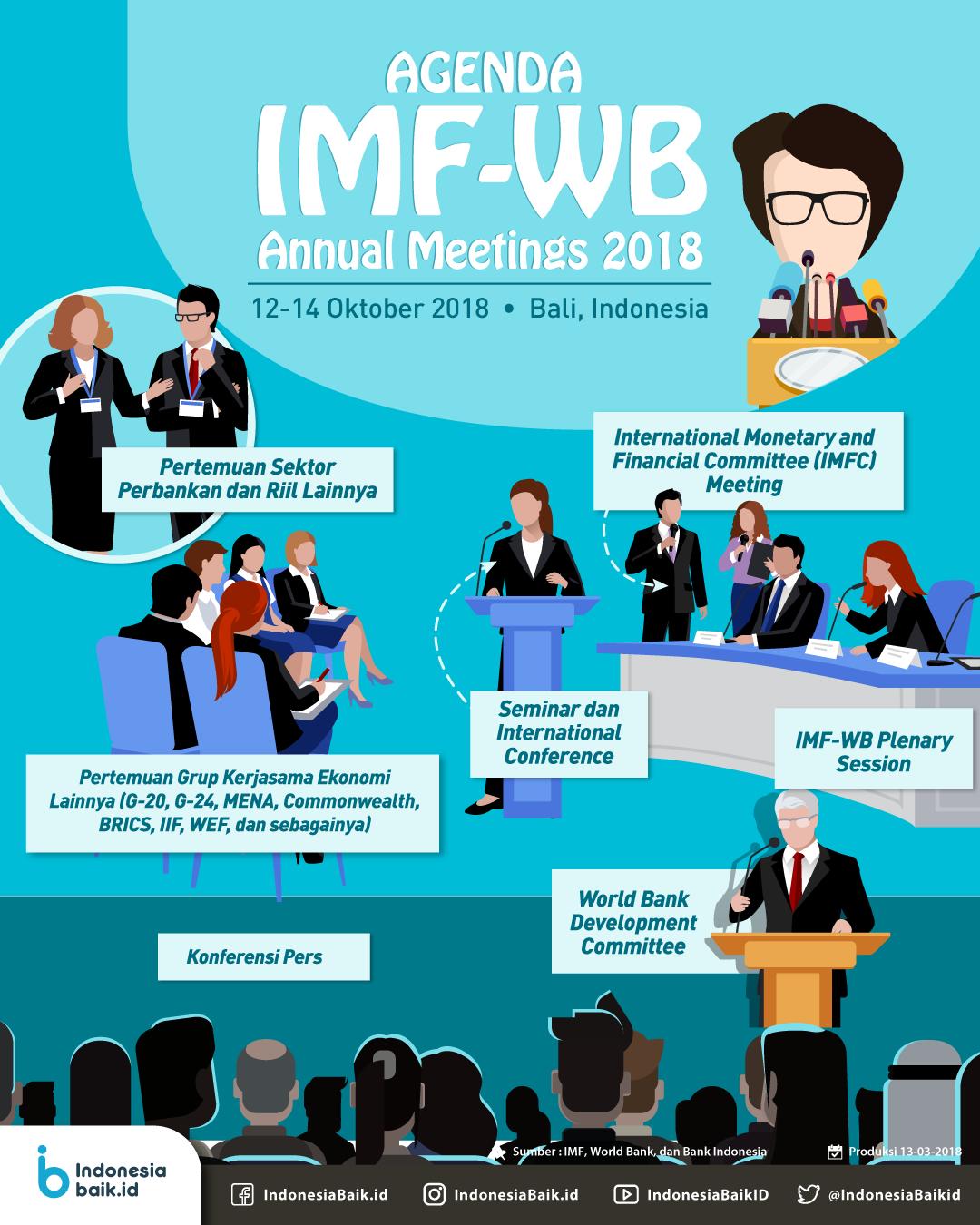 Agenda IMF-WB Annual Meetings 2018