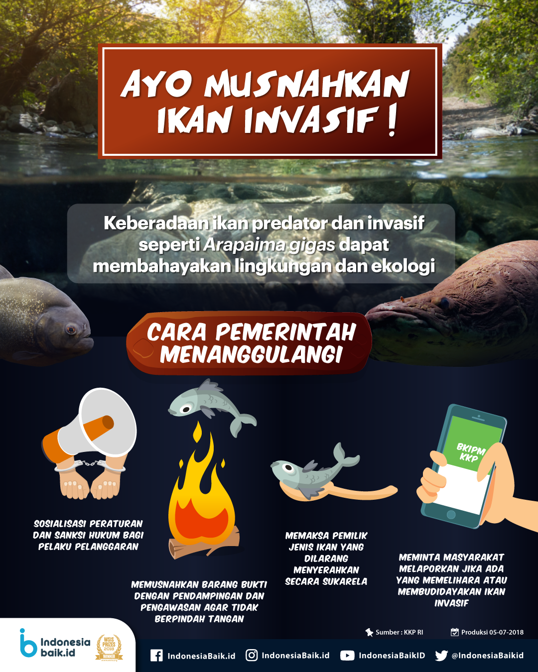 Ayo Musnahkan Ikan Infasif!