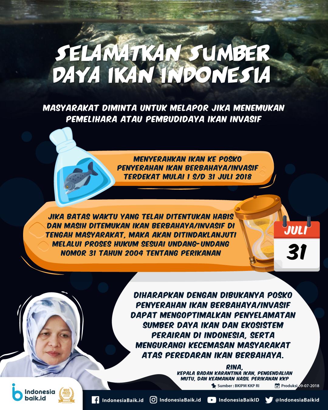 Selamatkan Sumber Daya Ikan Indonesia!