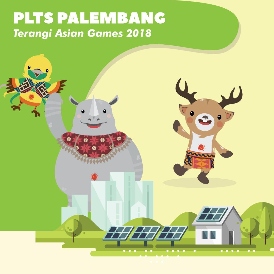 PLTS Palembang Terangi Asian Games 2018-inf