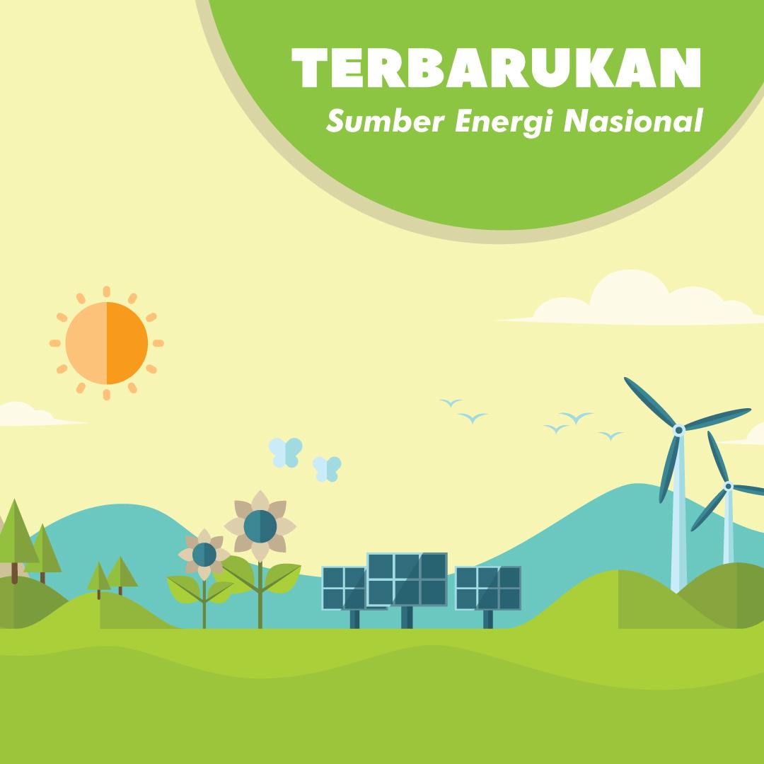 Energi Baru Terbarukan Sumber Energi Nasional-inf