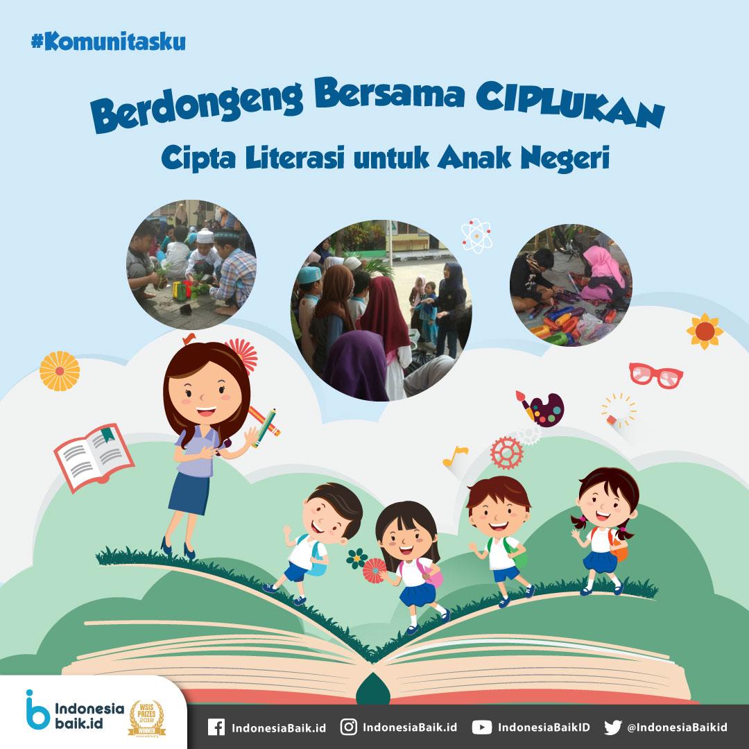 Ciplukan Cipta Literasi untuk Anak Negeri