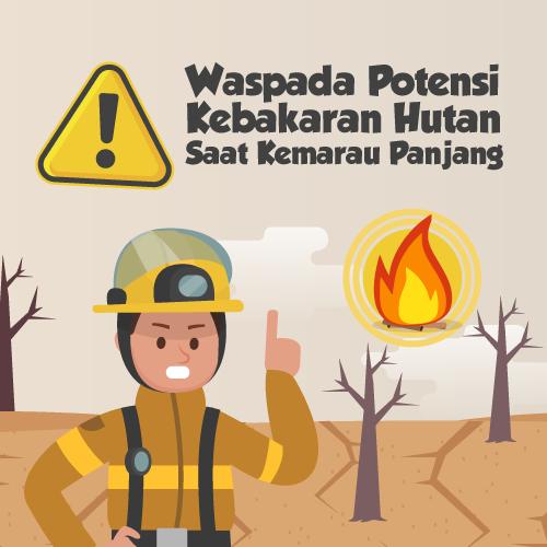 Waspada Potensi Kebakaran Hutan Saat Kemarau Panjang-inf