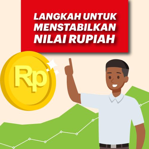 Langkah Untuk Menstabilkan Nilai Rupiah-inf