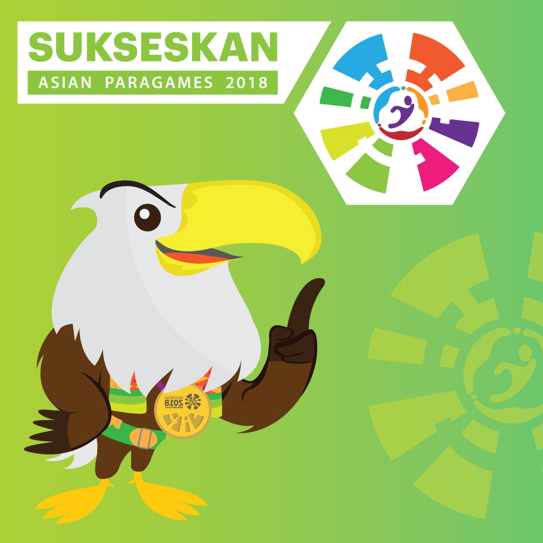 Sukseskan Asian Para Games 2018-inf