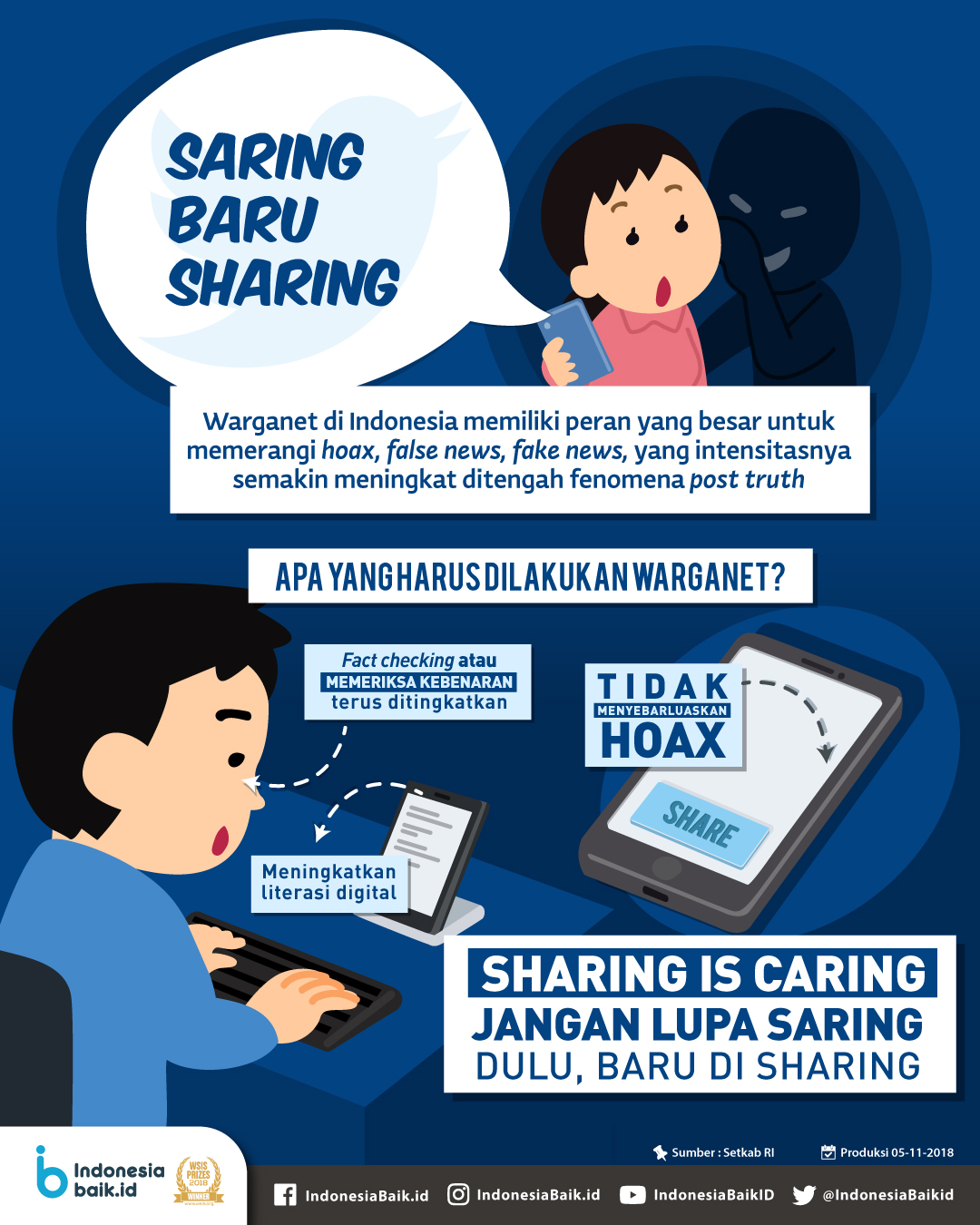 Saring baru Sharing