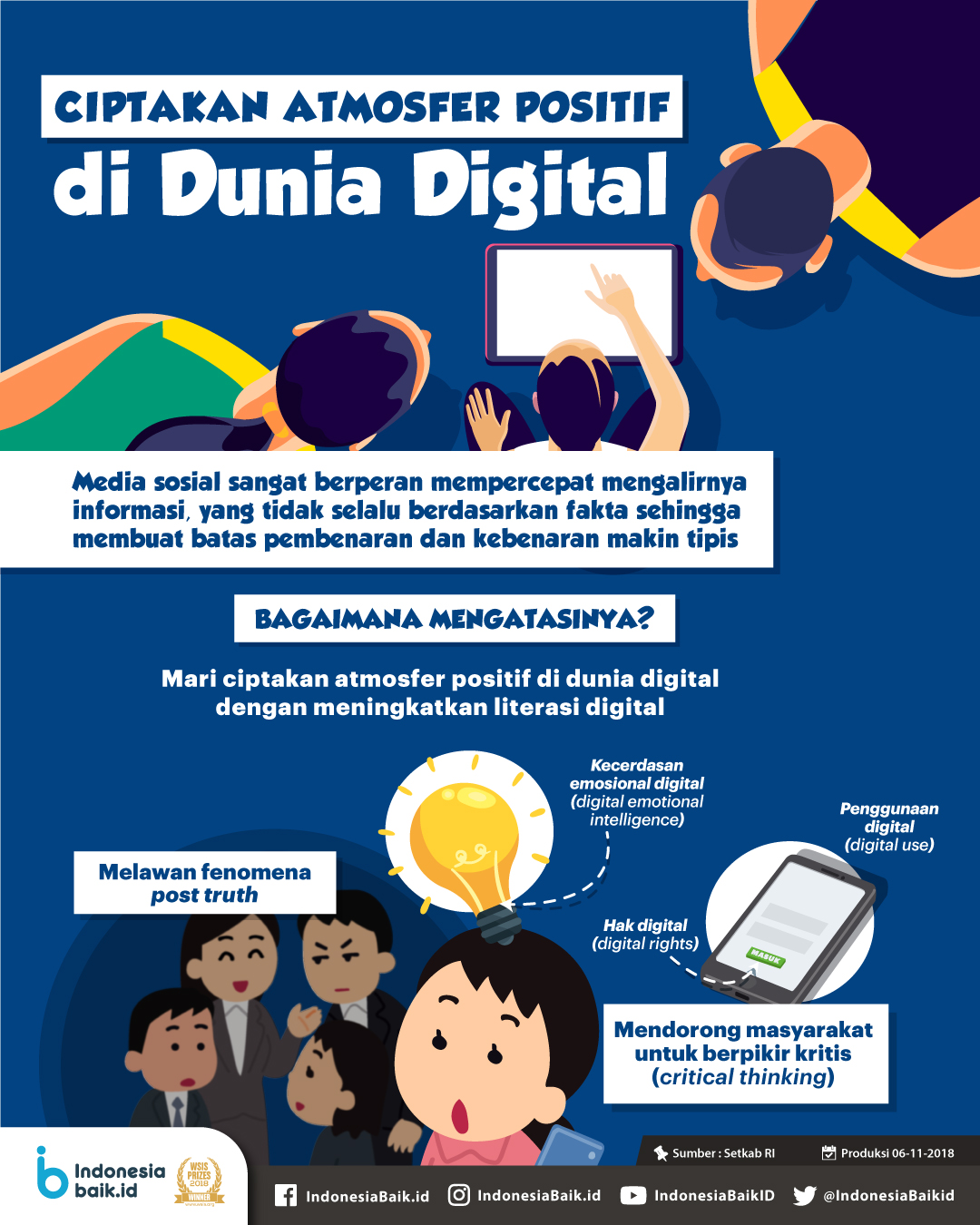 Ciptakan Atmosfer Positif di Dunia Digital