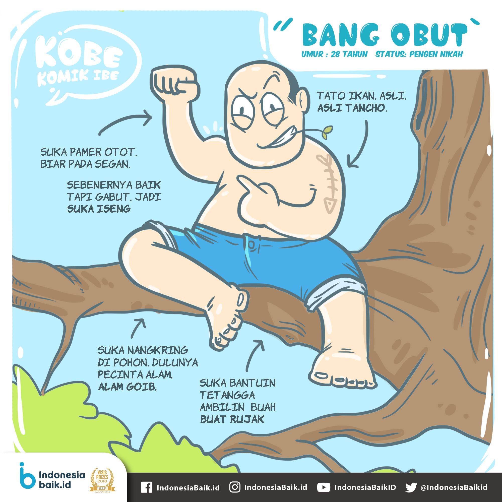 Karakter Bang Obut