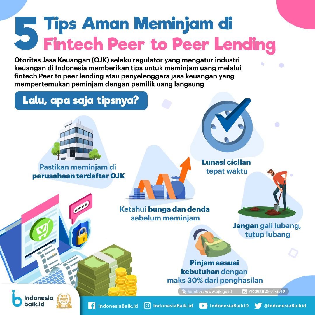 5 Tips Aman Meminjam di Fintech Peer to Peer Lending