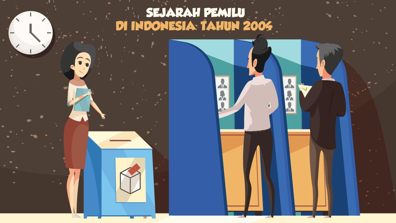 Sejarah Pemilu di Indonesia: Tahun 2004-thum