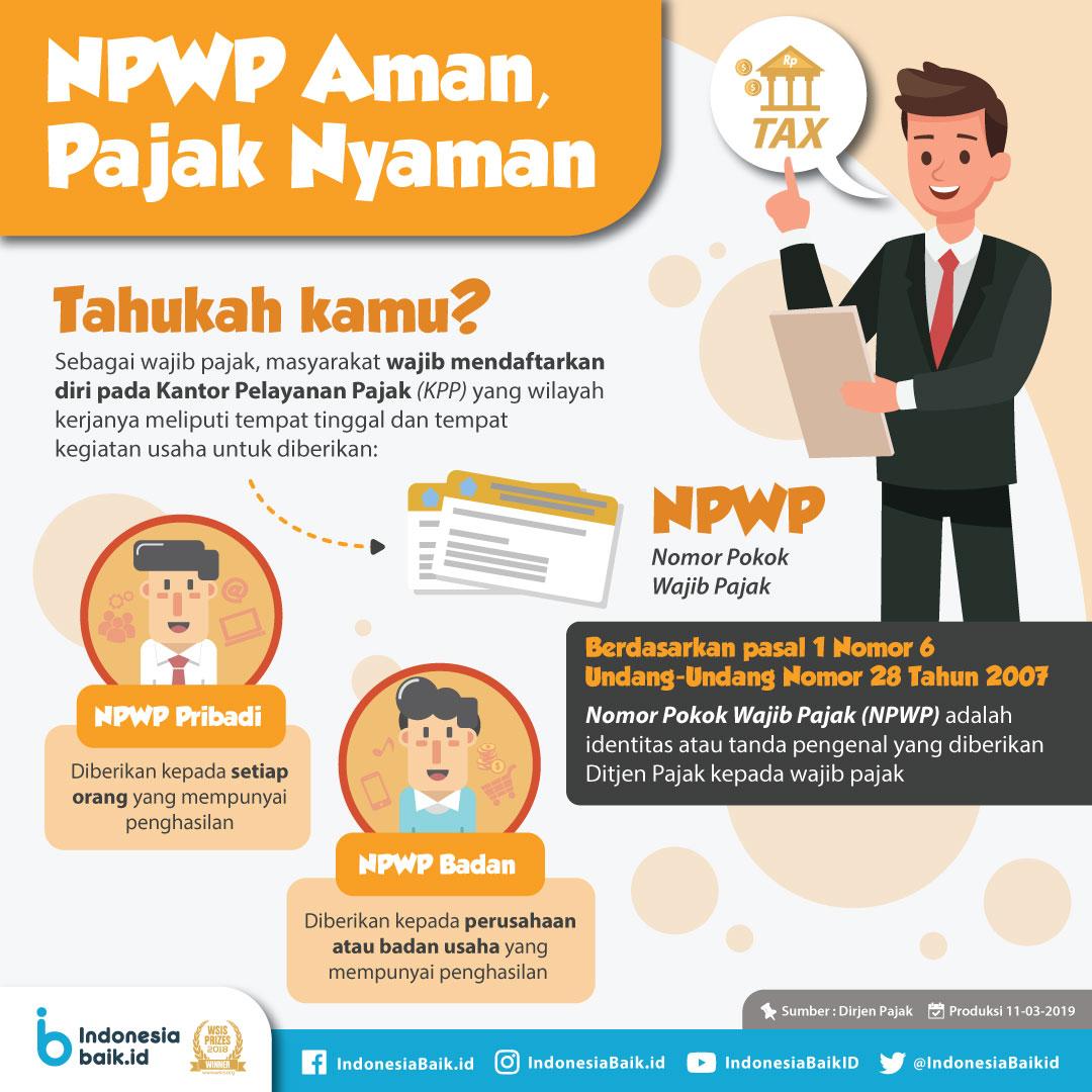 NPWP Aman, Pajak Nyaman