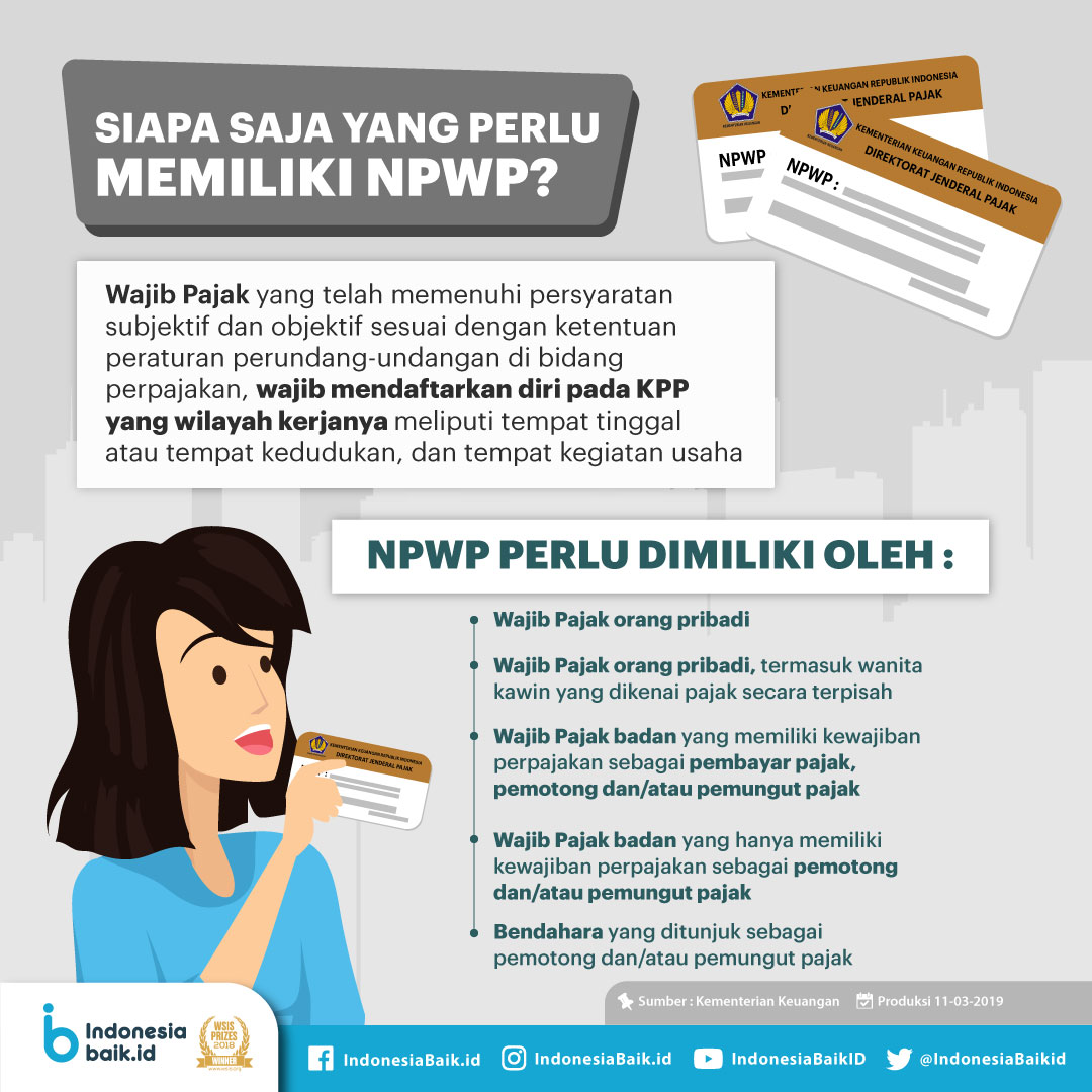 Siapa Saja yang Perlu Memiliki NPWP?