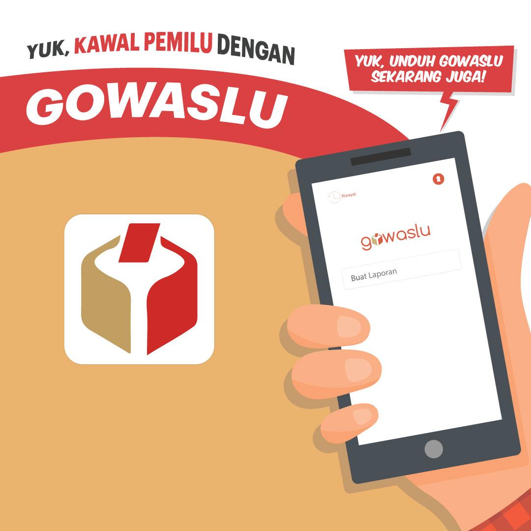 Yuk! Kawal Pemilu dengan Gowaslu-inf