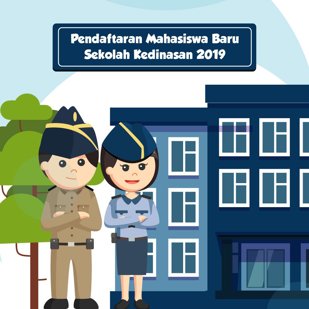 Pendaftaran Mahasiswa Baru Sekolah Kedinasan 2019-inf