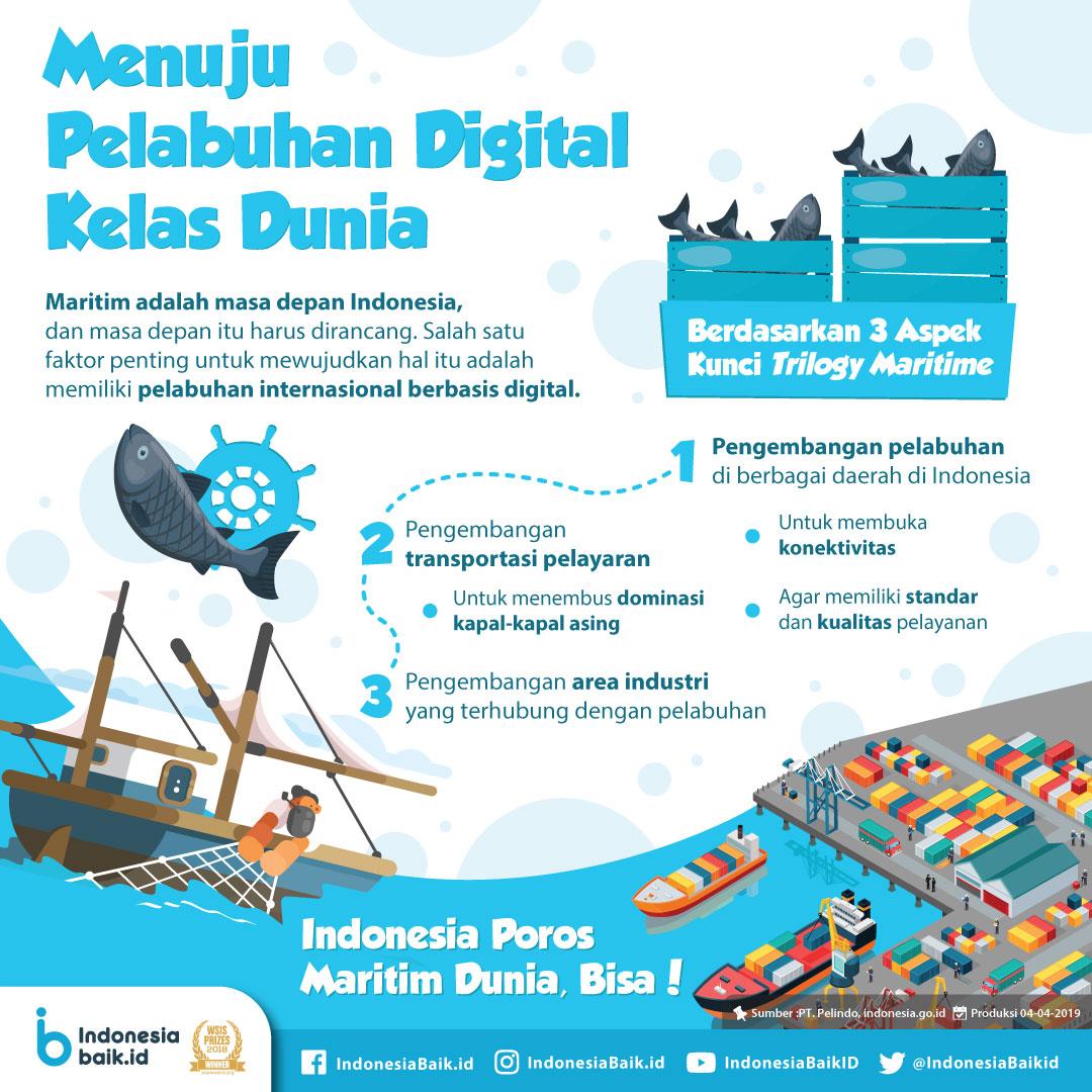 Menuju Pelabuhan Digital Kelas Dunia