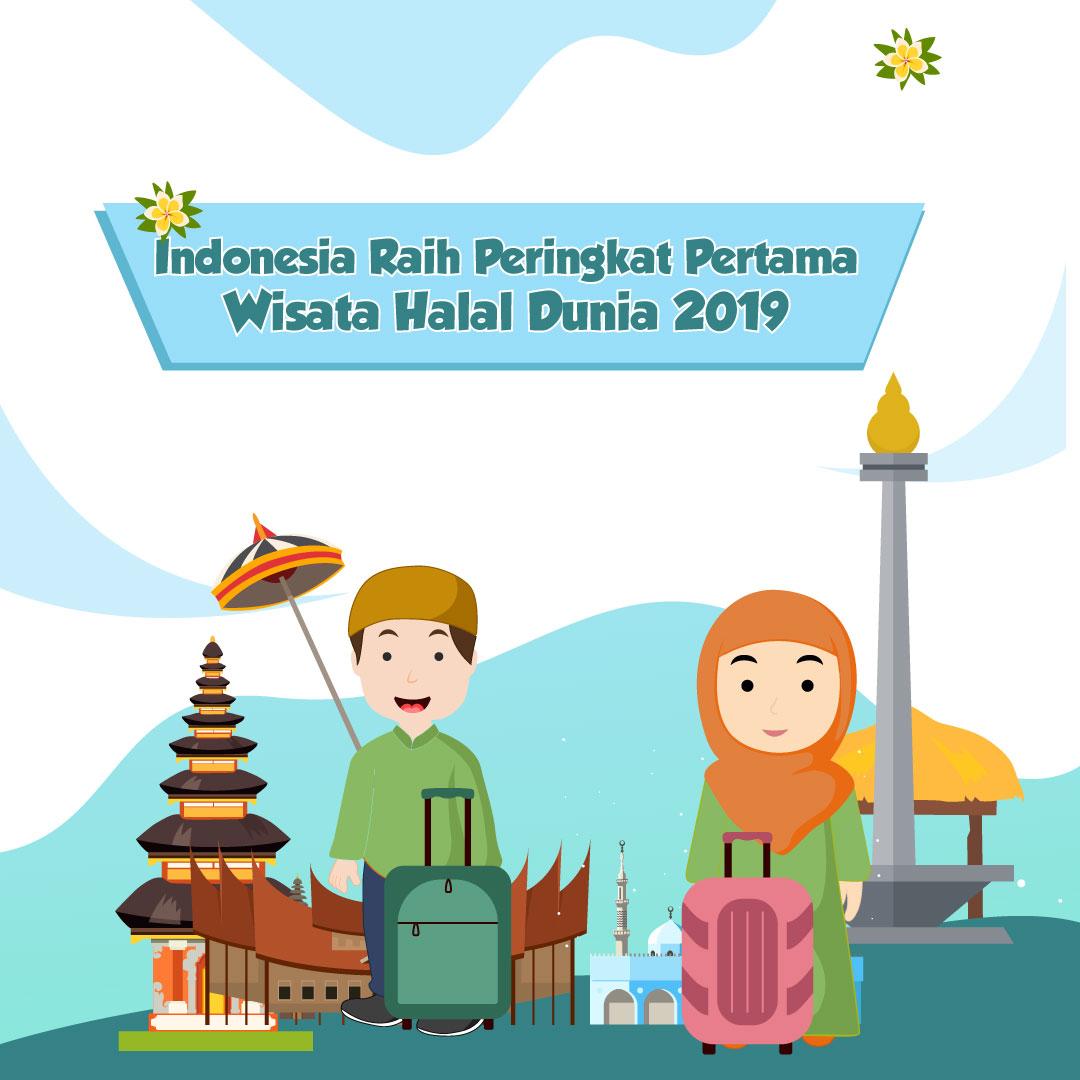 Indonesia Raih Peringkat Pertama Wisata Halal Dunia 2019-inf