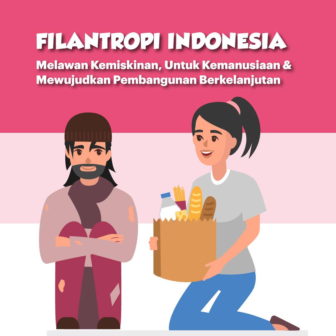 Filantropi Indonesia, Melawan Kemiskinan, Untuk Kemanusiaan & Mewujudkan Pembangunan Berkelanjutan-inf