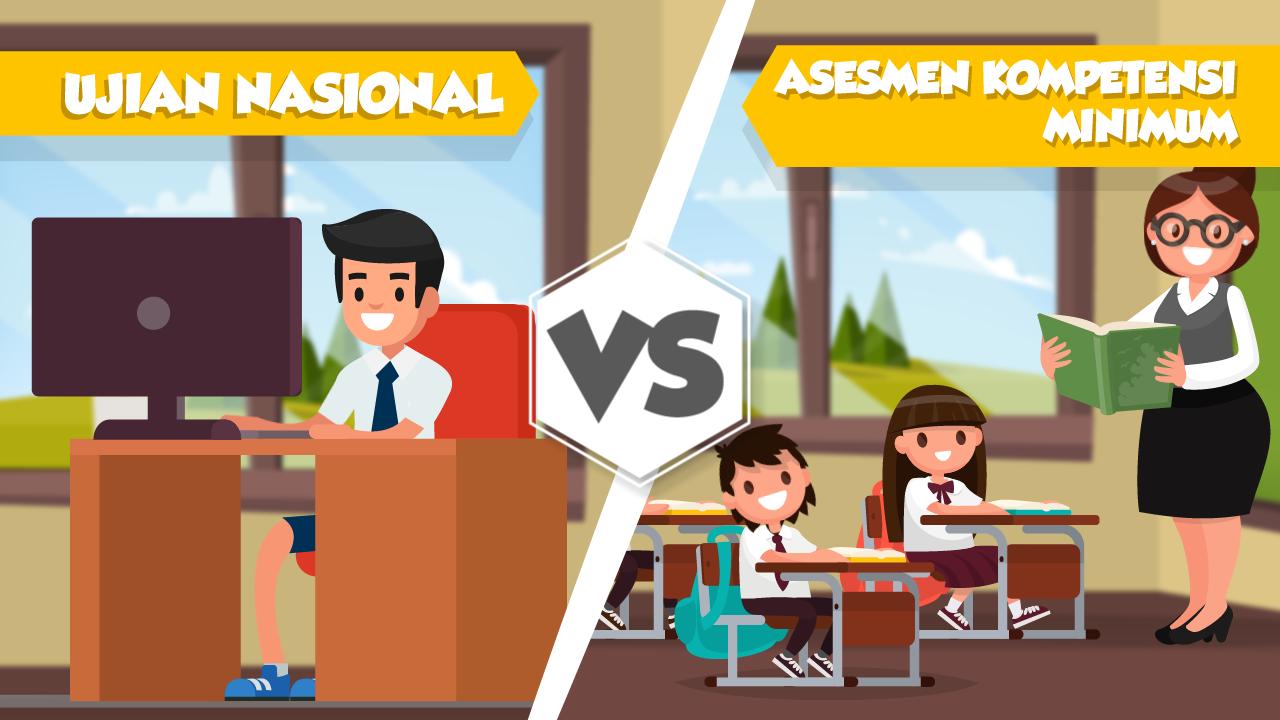 Ujian Nasional vs Asesmen Kompetensi Minimum & Survei Karakter-tmb