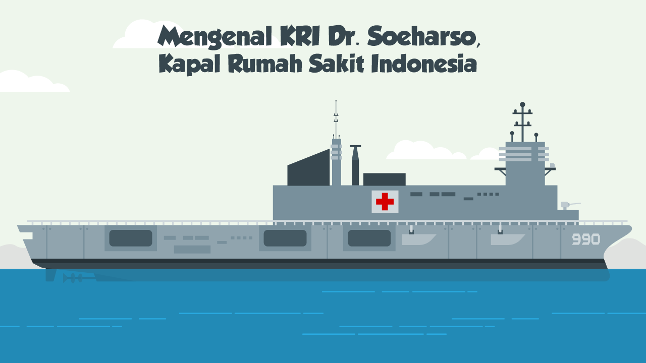 Mengenal KRI Dr. Soeharso, Kapal Rumah Sakit Indonesia-tmb