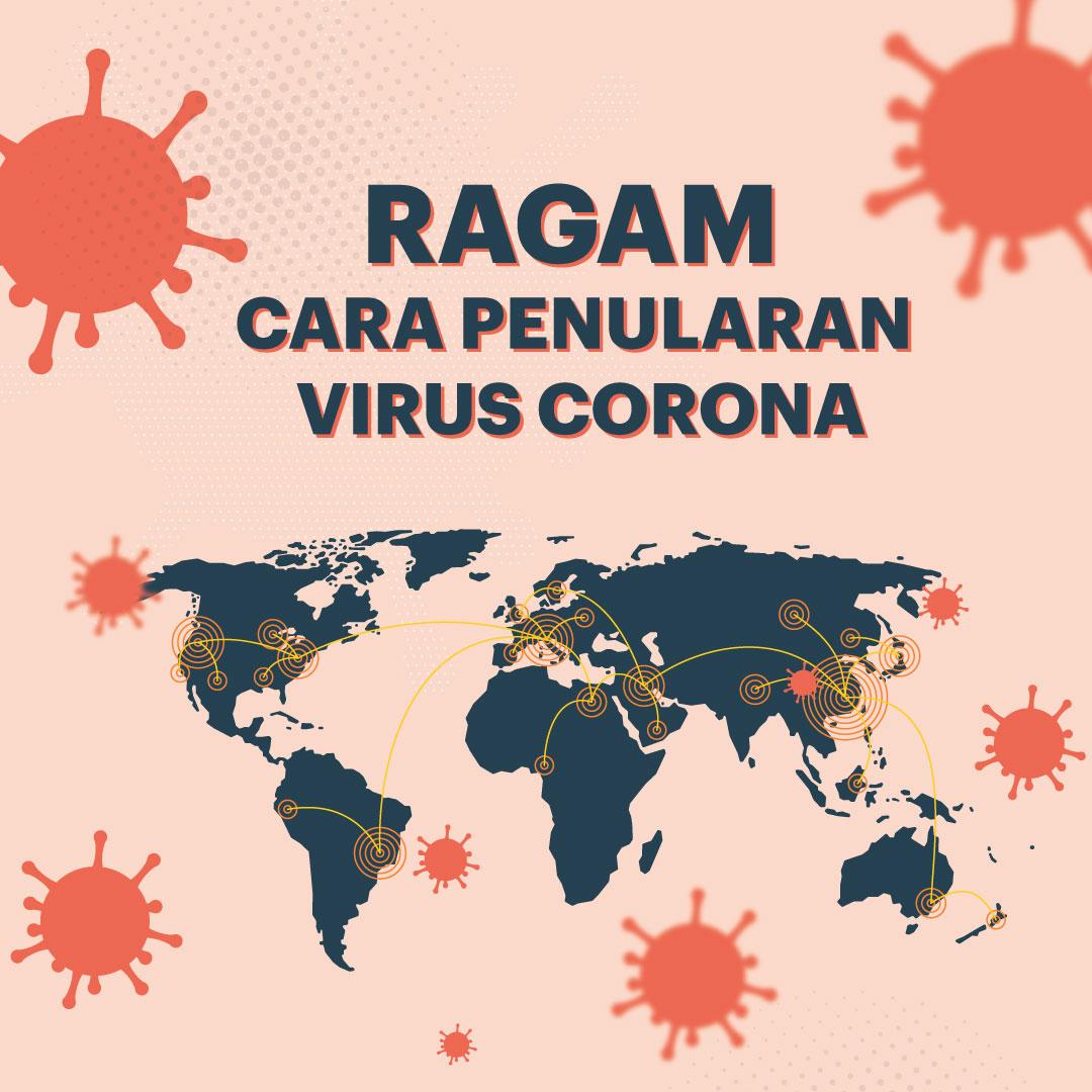 Ragam Penularan Cara Penularan Virus Corona