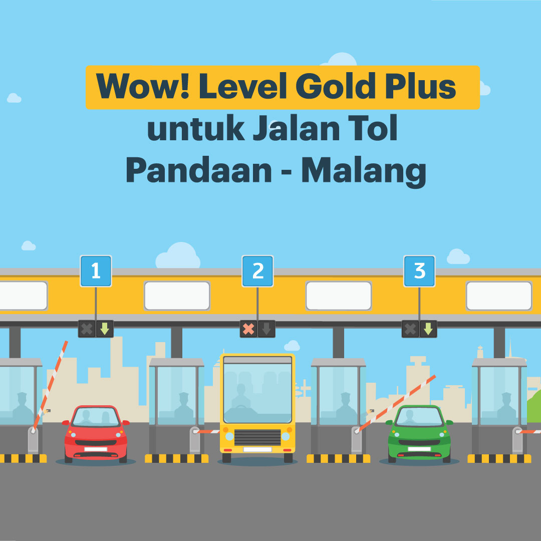 Wow! Level Gold Plus untuk Jalan Tol Pandaan Malang