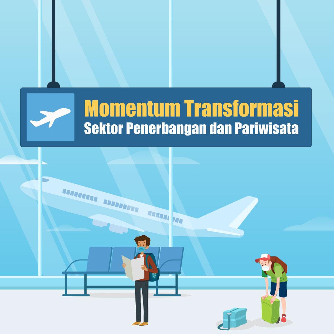 Momentum Transformasi Sektor Penerbangan dan Pariwisata-inf